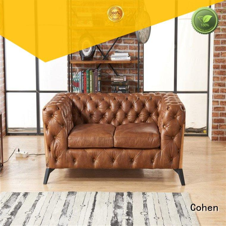 Vintage Leather Two Seater Sofa